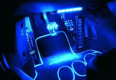 Тюнинг с светодиодами